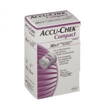 Accu-Chek Compact 50+1 Strisce Strisce glicemia
