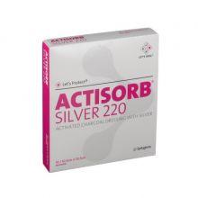 Actisorb Silver 220 10,5cm x 10,5cm 10 pezzi Medicazioni avanzate