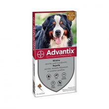 Advantix Spot On 4 Pipette 40- 60 kg Antiparassitari e altri prodotti veterinari