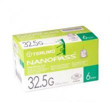 Ago Nanopass G32,5 6mm 100 Pezzi Aghi per insulina