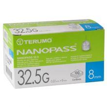 Ago Nanopass G32,5 8mm 100 Pezzi Aghi per insulina