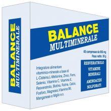Balance Multiminerale 40 Compresse Prostata e Riproduzione Maschile