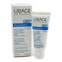 Bariderm Uriage Cica-Crema Riparatrice SPF50+  Creme solari viso