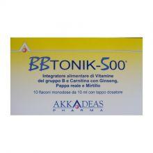 BBTonik 500 10 Flaconcini Tonici e per la memoria
