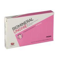 Biomineral Unghie 30 Capsule Integratori per capelli e unghie