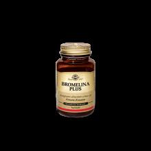 Bromelina Plus Solgar 60 Capsule Vegetali Drenanti naturali