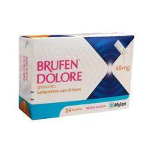 Brufen Dolore Granulato 24 Bustine 40mg Farmaci Antinfiammatori