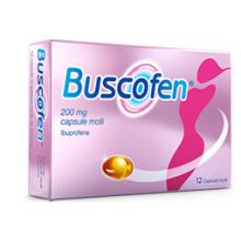 Buscofen 12 Capsule Molli 200 mg Ibuprofene