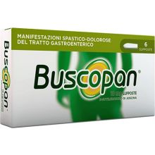Buscopan 6 Supposte 10 mg 006979049 Antispastici