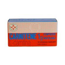 Carnitene 10 Compresse masticabili 1g Altri disturbi