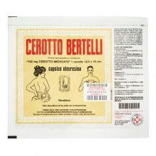 Cerotto Bertelli Medio 12,5cm x 16cm Pomate, cerotti, garze e spray dermatologici