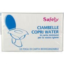 Copri WC Monouso Safety 10 Pezzi Altri prodotti medicali