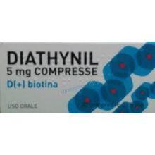 Diathynil 30 compresse 5mg Tonici, vitaminici e sali minerali