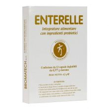 Enterelle 12 Capsule Da 377 mg Fermenti lattici