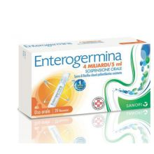 Enterogermina 4 Miliardi 20 Flaconcini 013046089 Fermenti lattici e intolleranza lattosio