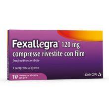 FEXALLEGRA*10CPR RIV 120MG Farmaci Antistaminici
