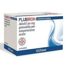 Fluibron Adulti Granulato 30 Bustine 30 mg 024596090 Mucolitici e fluidificanti