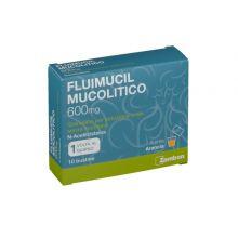Fluimucil Mucolitico 600 mg 10 Bustine Farmaci Per La Tosse Secca
