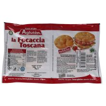 AGLUTEN LA FOCACCIA TOSCANA 100G Pizza senza glutine
