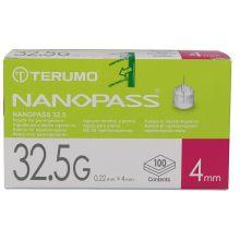 AGO NANOPASS G32,5 4MM 100 PEZZI Aghi per insulina