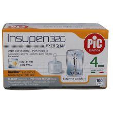 AGO PIC INSUPEN 32G 4MM 100 PEZZI Aghi per insulina