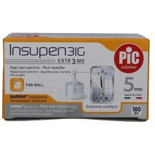 AGO PIC INSUPEN G31 5MM 100 PEZZI Aghi per insulina