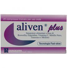 ALIVEN PLUS 20 COMPRESSE Colesterolo e circolazione