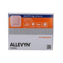 ALLEVYN ADHESIVE ARGENTO 7,5CM X 7,5CM 10 MEDICAZIONI Medicazioni avanzate