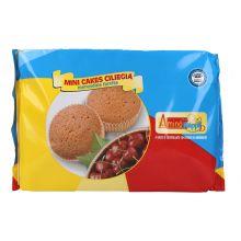 AMINO HAPPY D MINI CAKE CILIEGIA 160G Altri alimenti aproteici e ipoproteici