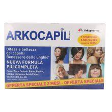 Arkocapil Pack 2X60 Capsule Integratori per capelli e unghie