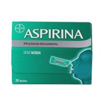 Aspirina 20 Bustine Orosolubili 500 mg 004763544 Farmaci per curare  raffreddore e influenza