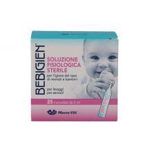 BEBIGIEN SOLUZIONE NASALE MONODOSE 25 FLACONCINI DA 5ML Lavaggi nasali