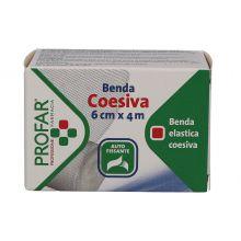 BENDA ELASTICA PROFAR COESIVA 6CM X 4M Garze e bende