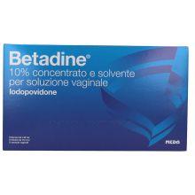 Betadine Soluzione vaginale 5 Flaconi + 5 Fiale + 5 Cannule Schiume, lavande e detergenti vaginali