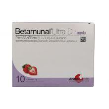 Betamunal Ultra D Gusto Fragola 10 Bustine Prevenzione CoronaVirus