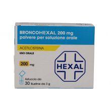 Broncohexal 30 Bustine 200 mg 039455023 Mucolitici e fluidificanti