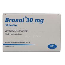 Broxol Adulti Bustine Uso Orale 30 mg 025573066 Mucolitici e fluidificanti