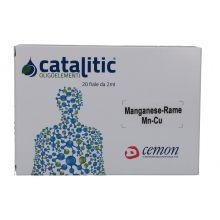 Catalitic Manganese-Rame 20 Fiale Da 2ml Oligoterapia