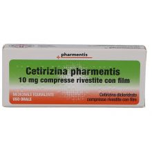 Cetirizina Ratiopharm 7 Compresse Rivestite 10 mg Farmaci Antistaminici