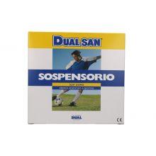DUALSAN SLIP UOMO SOSPENSORIO SPORT BIANCO TAGLIA 5 Mutande contenitive
