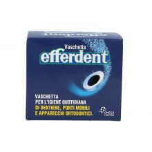 EFFERDENT VASCHETTA PORTAPROTESI Prodotti per dentiere e protesi dentarie