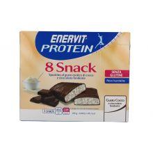 Enervit Protein 8 Snack al cocco da 23g Alimenti sostitutivi