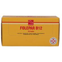 FOLEPAR B12* SCIROPPO 10 FLACONCINI DA 12G Tonici, vitaminici e sali minerali