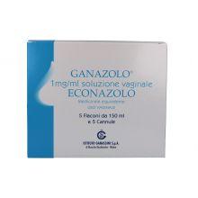 GANAZOLO* 5 LAVANDE VAGINALI DA 150ML + 5 CANNULE Schiume, lavande e detergenti vaginali