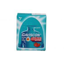 GAVISCON* 16 COMPRESSE ALLA FRAGOLA 250MG + 133,5MG Antiacidi