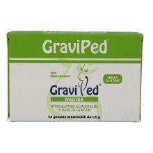GRAVIPED NAUSEA 24 GOMME MASTICABILI DA 1,2G Integratori per gravidanza e allattamento