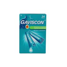 Gaviscon 24 Bustine 500mg + 267mg 10ml Antiacidi