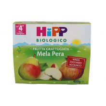 HIPP BIO FRUTTA GRATTUGIATA MELA E PERA 4 X 100G Omogeneizzati di frutta