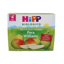 HIPP BIO FRUTTA GRATTUGIATA PERA 4 X 100G Omogeneizzati di frutta