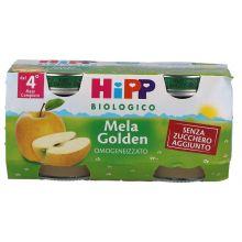 HIPP BIO OMOGENEIZZATO DI MELE GOLD 2 X 80G  Omogeneizzati di frutta
